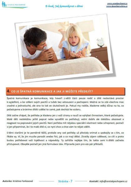 """Ebook """"Jak komunikovat s dětmi"""" - Náhled 1"""